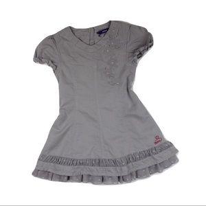 Mexx Girls Grey Dress, 24-30 Months